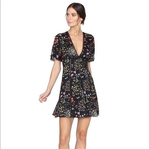 58eaa874cf2 Alice + Olivia Dresses & Skirts - Alice + Olivia Amara Lace Insert Dress ...